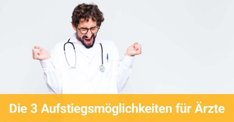 Ein Arzt jubelt