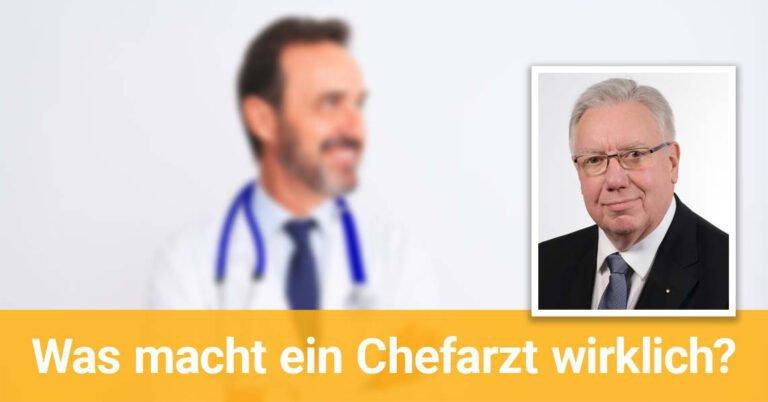 Porträtfoto von Ärzte-Coach Prof. Dr. Dieter Jocham